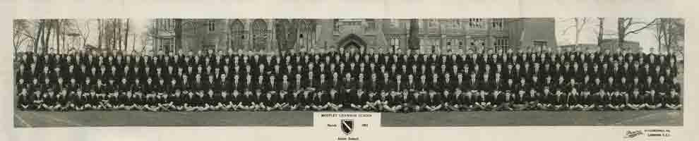 Photograph 1961 MGS Junior School