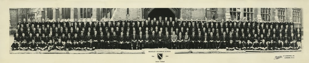 Photograph 1963 MGS Junior School