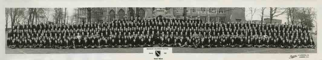 Photograph 1961 MGS Senior School