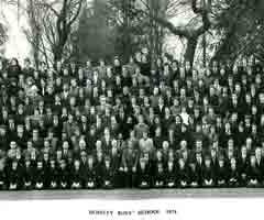 Photograph 1974 MGS Whole School