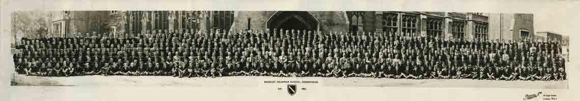 Photograph 1955 MGS Whole School