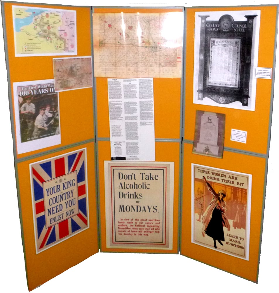 WW1-DisplayBoard 1b