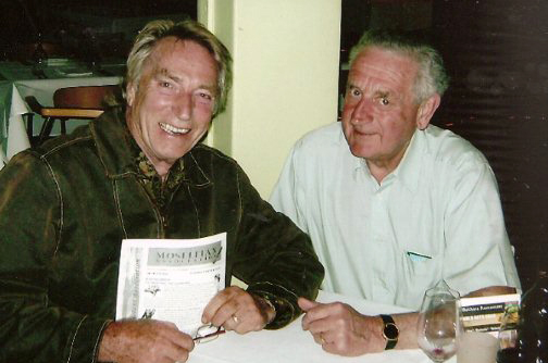 Barry Phillips caught up with Frank Ifield on a trip to Australia were Frank now lives.