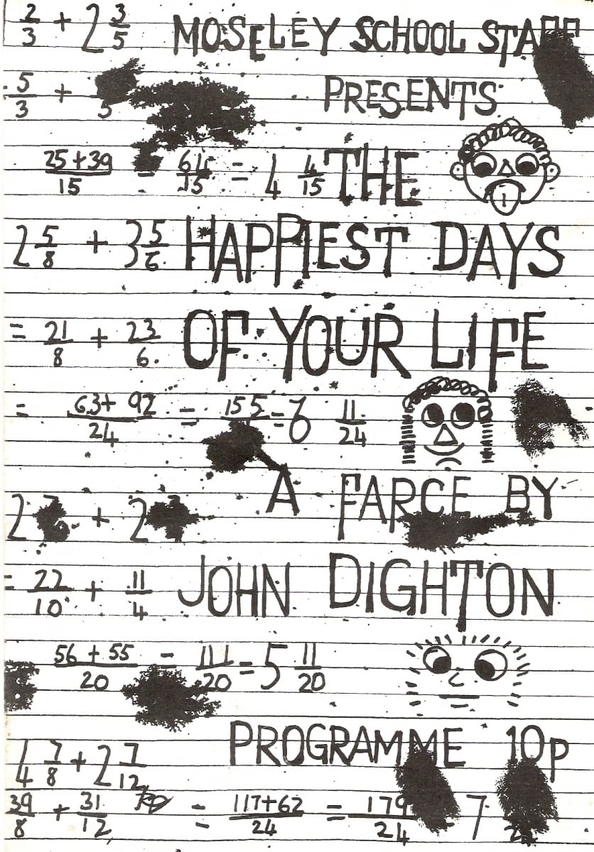 """the happiest days of your life essay """"the happiest days of your life"""" by penelope lively from 1978, describes that in my essay i will have a focus on the deceitfulness, and the parents blindness for their son """"the happiest days of your life"""" is a short story told with an omniscient narrator without commenting."""