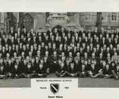 Photograph 1961 MGS Senior School