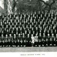 Photograph 1972 MGS Whole School