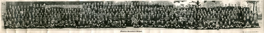 Photograph 1934 (approx) MSS Whole School