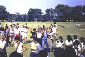 Sports Day 1979 At End of Proceedings