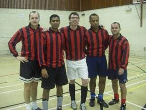 Teachers 5-a-side football team (2005)
