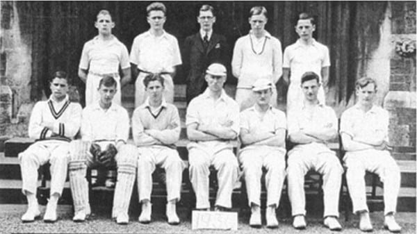 1936-1st-XI-Cricket-Team