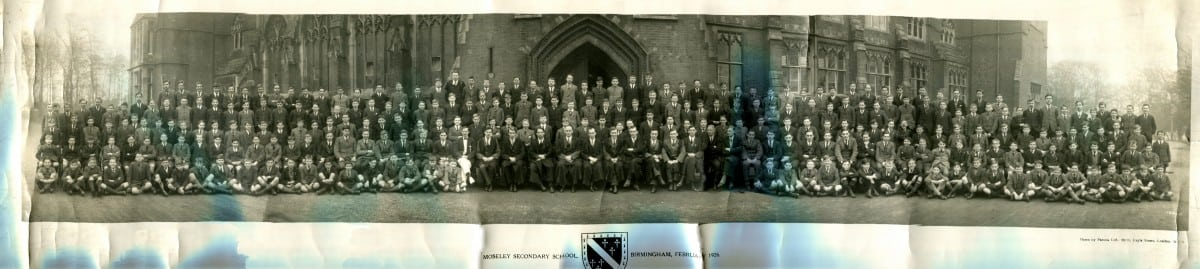 1926 MGS Whole School Feb