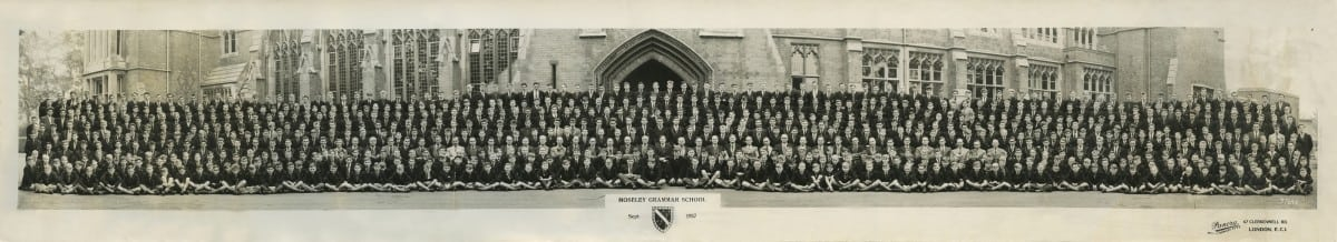 1957 MGS Whole School Sept
