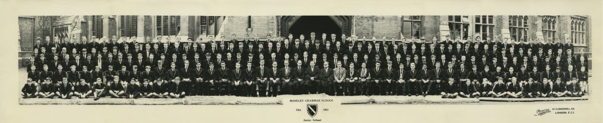 1963 MGS Junior School Oct